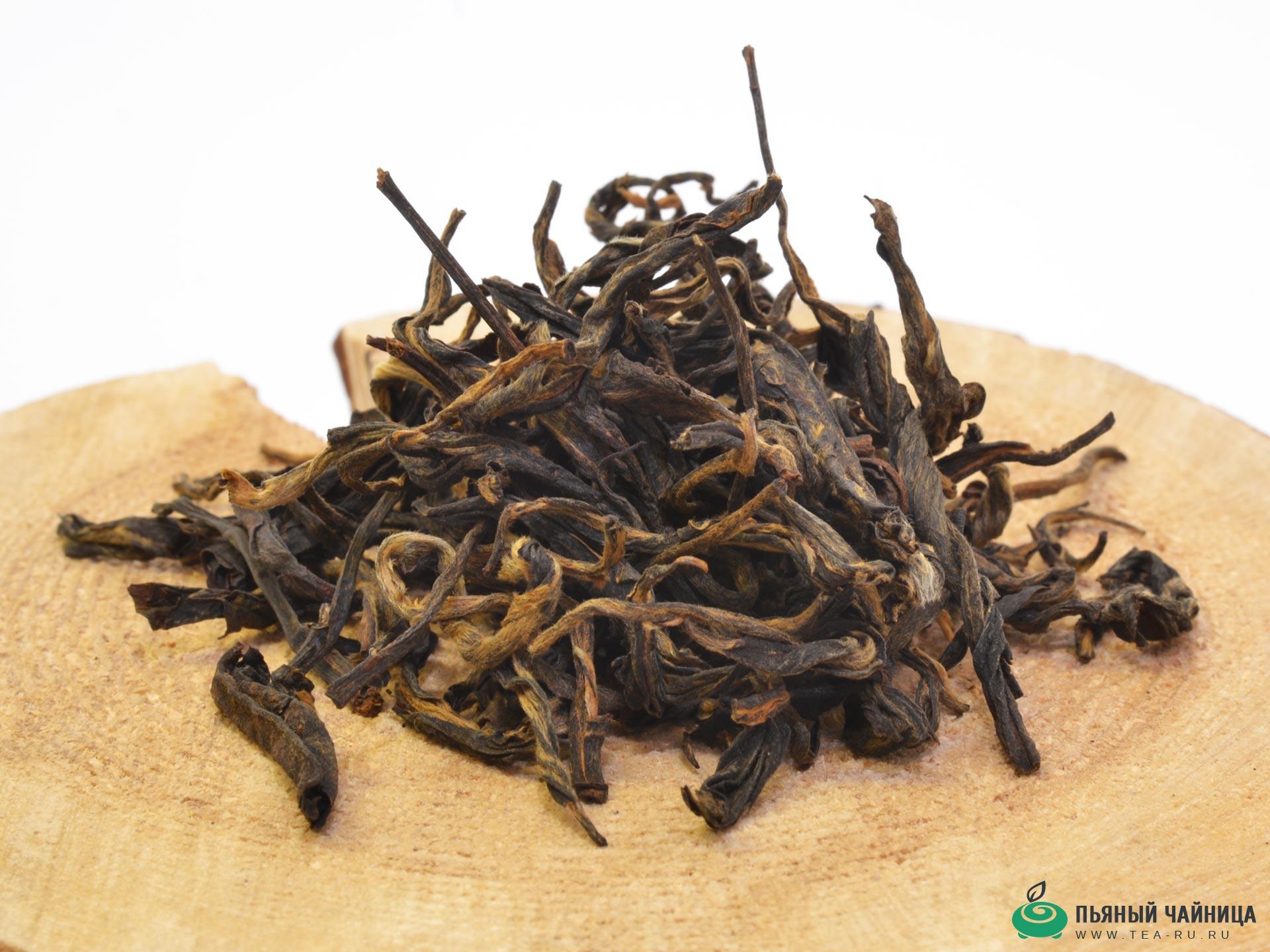 красный чай описание