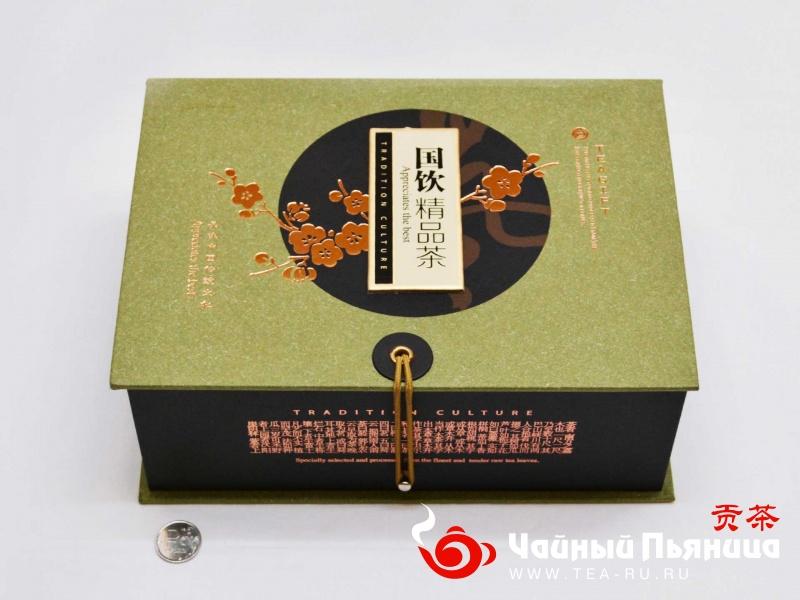 """Подарочный набор №15, """"Зеленый и красный чай"""""""