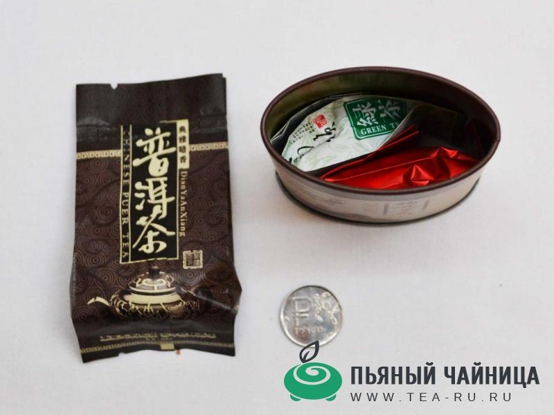 """Подарочный набор №2, """"Малое знакомство с чаем"""""""