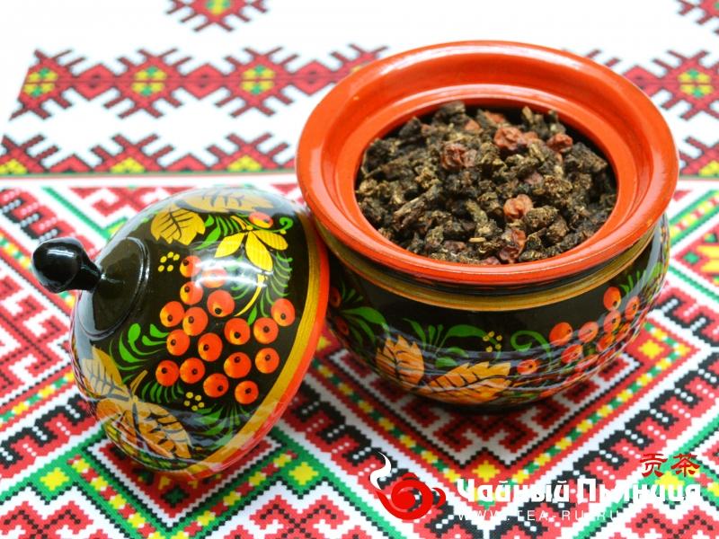 Иван-чай с красной рябиной скрученный ветлужский