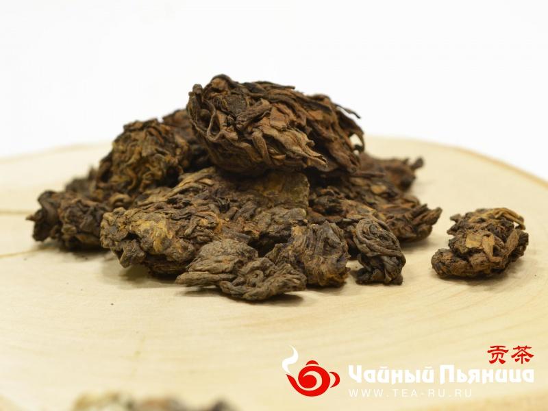 Лао Ча Туо, Старые Чайные Головы, Шу, 2011г.