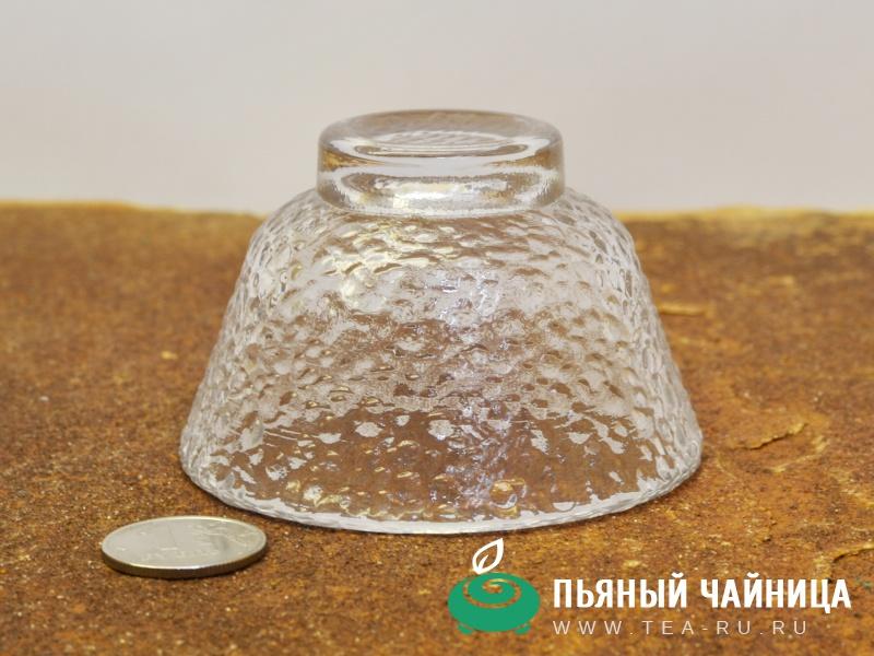 """Пиала, стекло """"талый лёд"""", 75мл."""